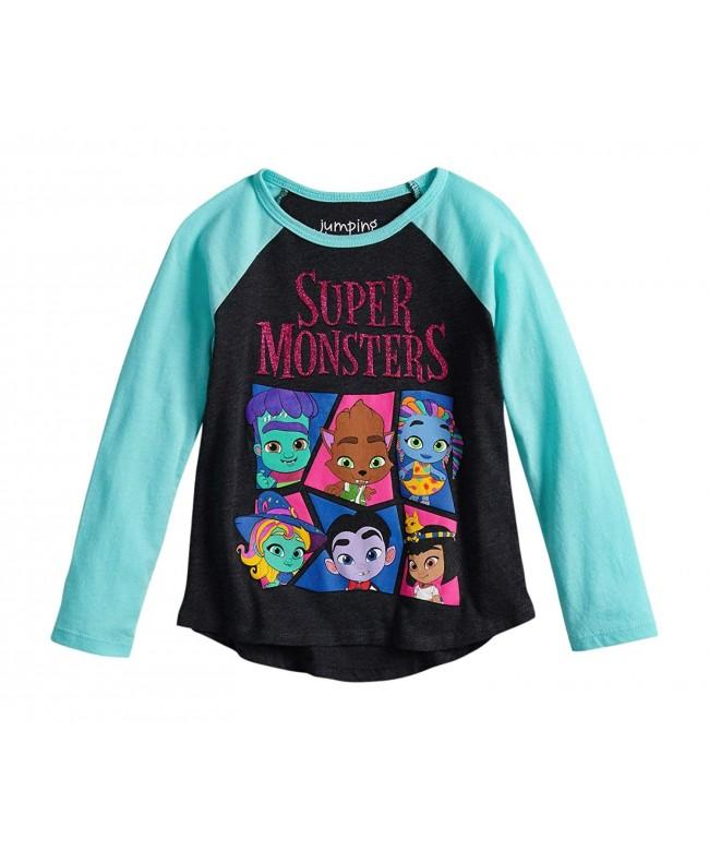 Netflix Monsters Toddler Raglan Sleeve