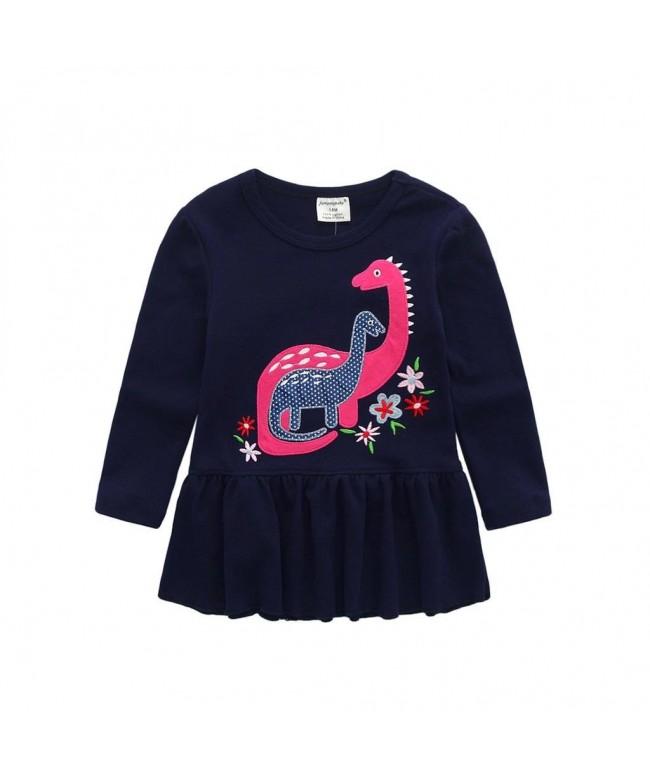 Koupa Little Applique Dinosaur T Shirt
