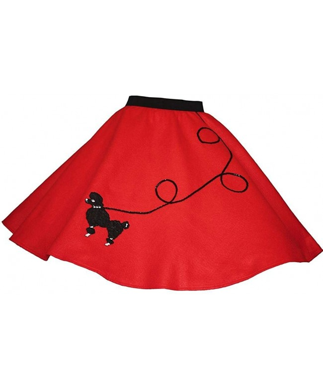BIG NOTES Children Red Poodle