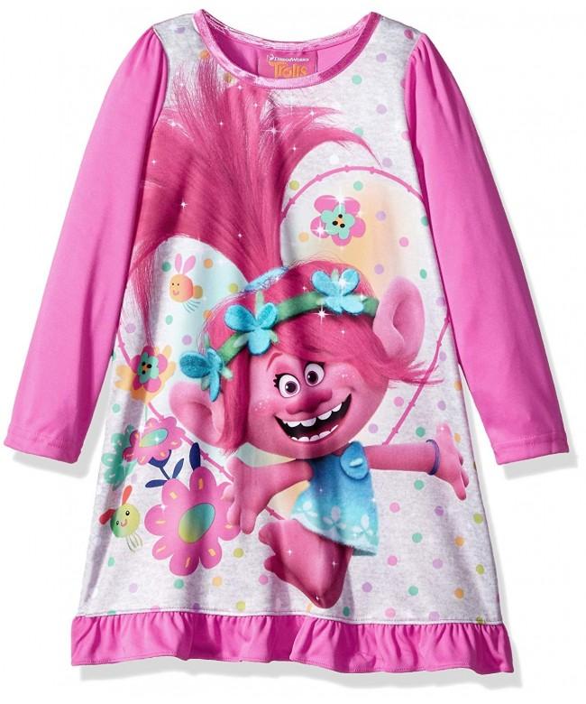 Trolls TP037GDL Girls Poppy Nightgown