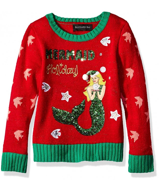 Blizzard Bay Christmas Mermaid Sweater