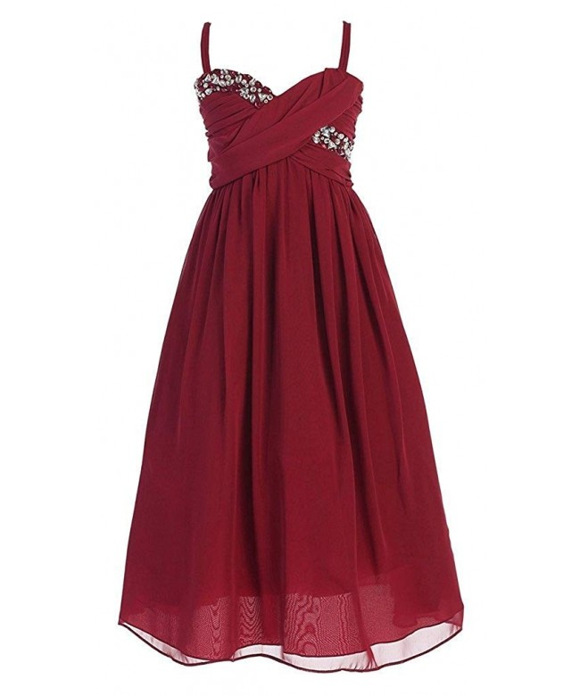 iGirldress Little Ruched Chiffon Dresses