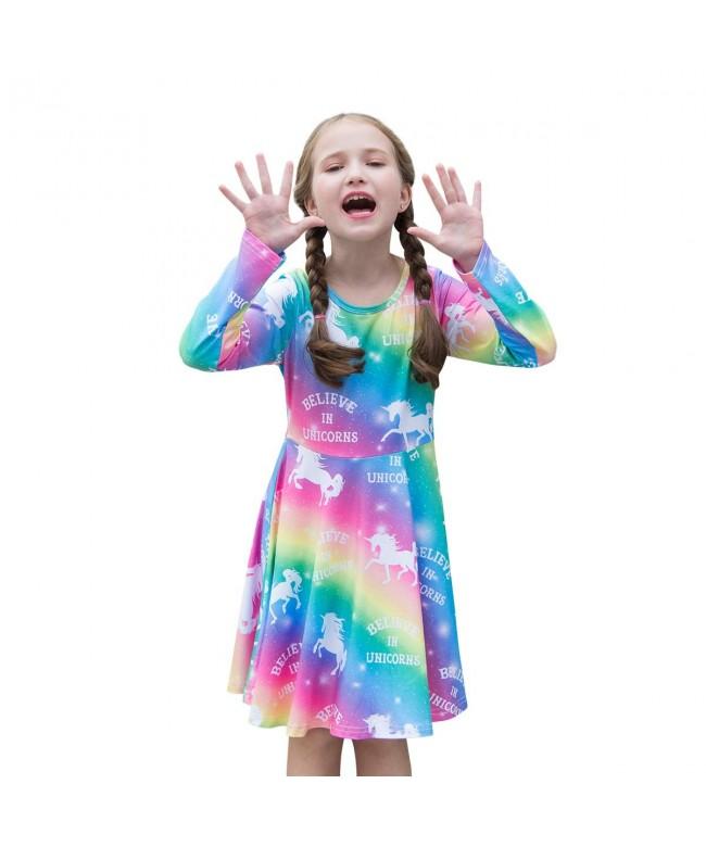 Unicorn Sleeve Rainbow Clothes Outfits