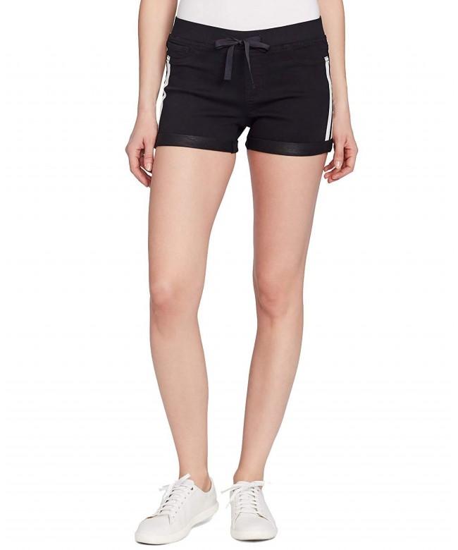 Black Daisy Juniors Pull Shorts