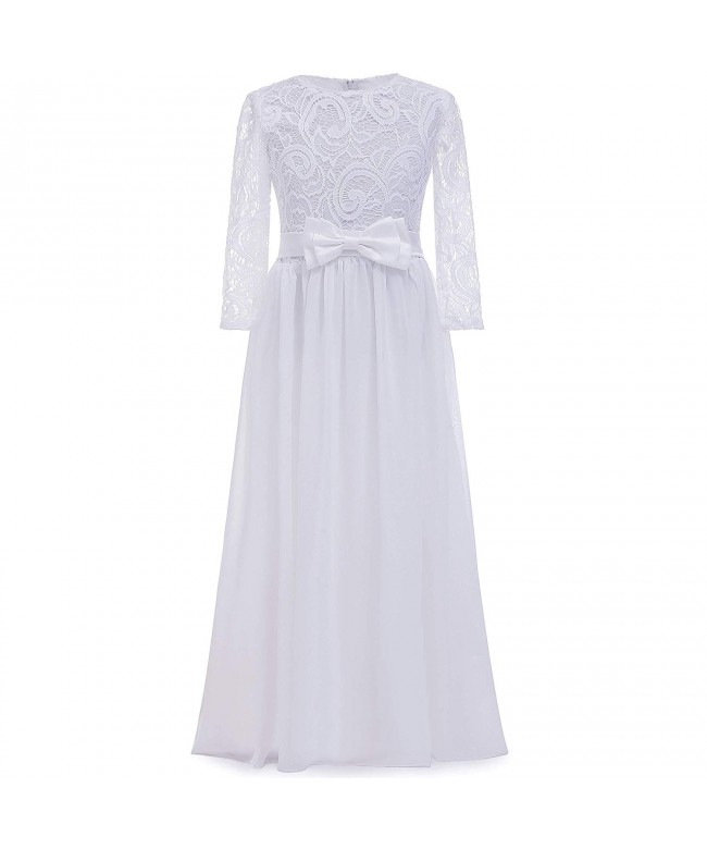 AbaoSisters Wedding Sleeves Pageant Communion