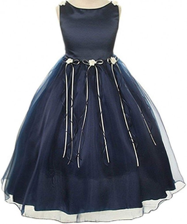 BluNight Collection Rosebud Ribbons Dresses