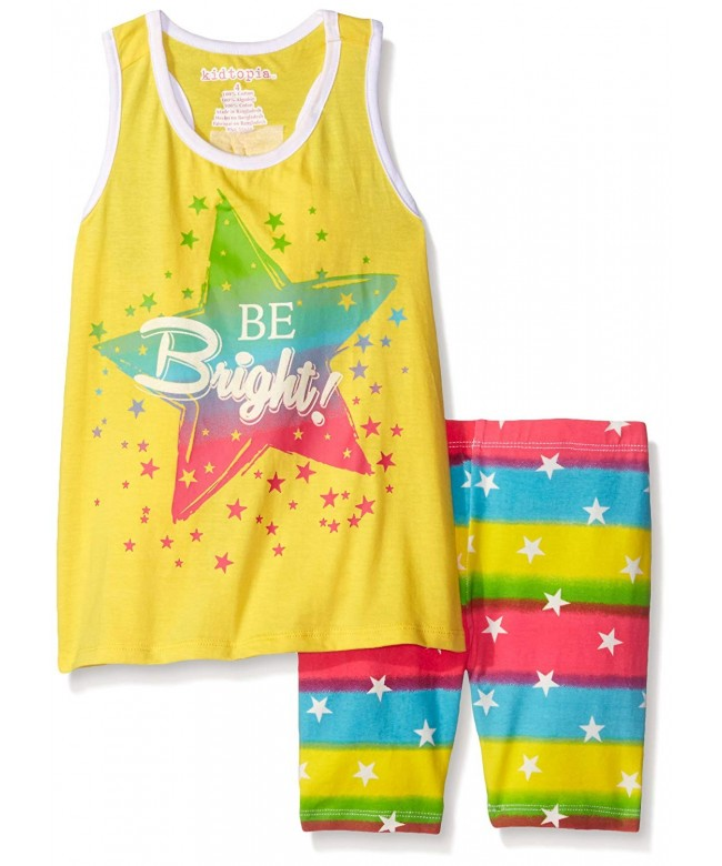 Kidtopia Girls Bright Stripes Stars
