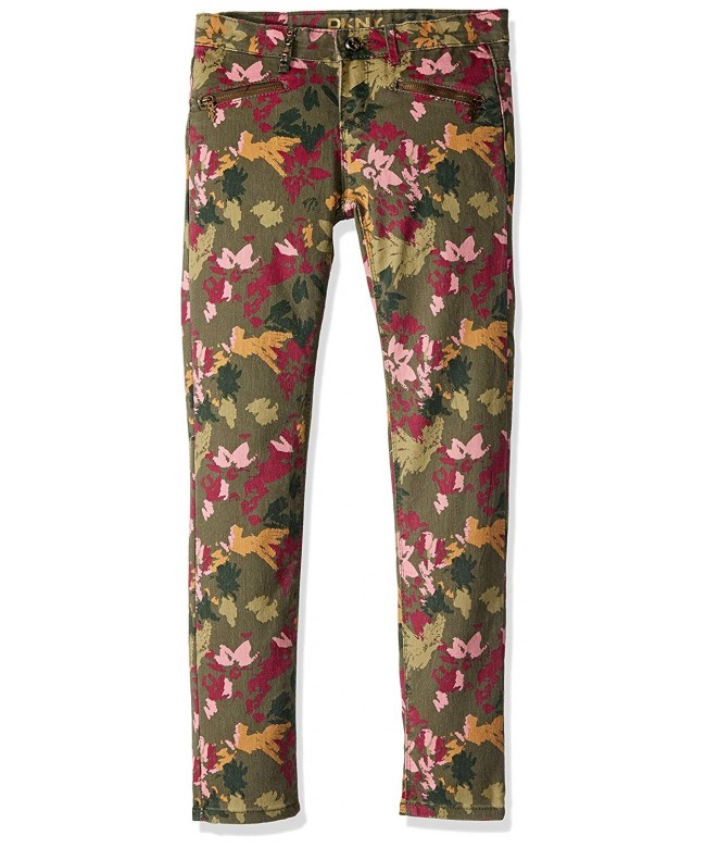 DKNY Girls Camo Floral Jeans