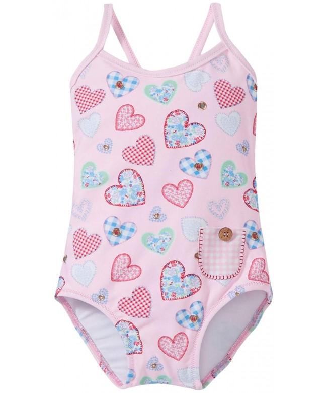 Sunuva S6202 Patchwork Heart Swimsuit