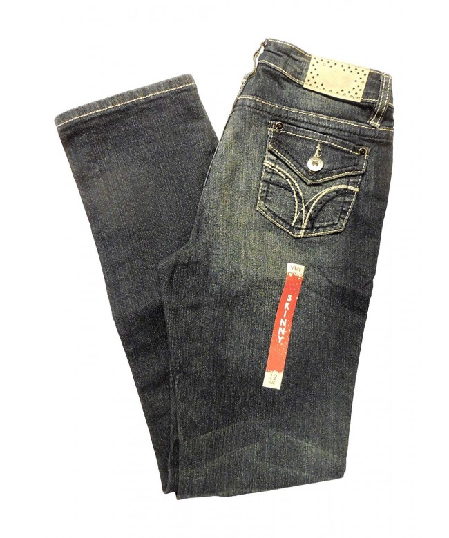 YMI Girls Embellished Skinny Jean