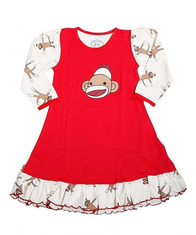 Saras Prints Little Sleeve Nightgown