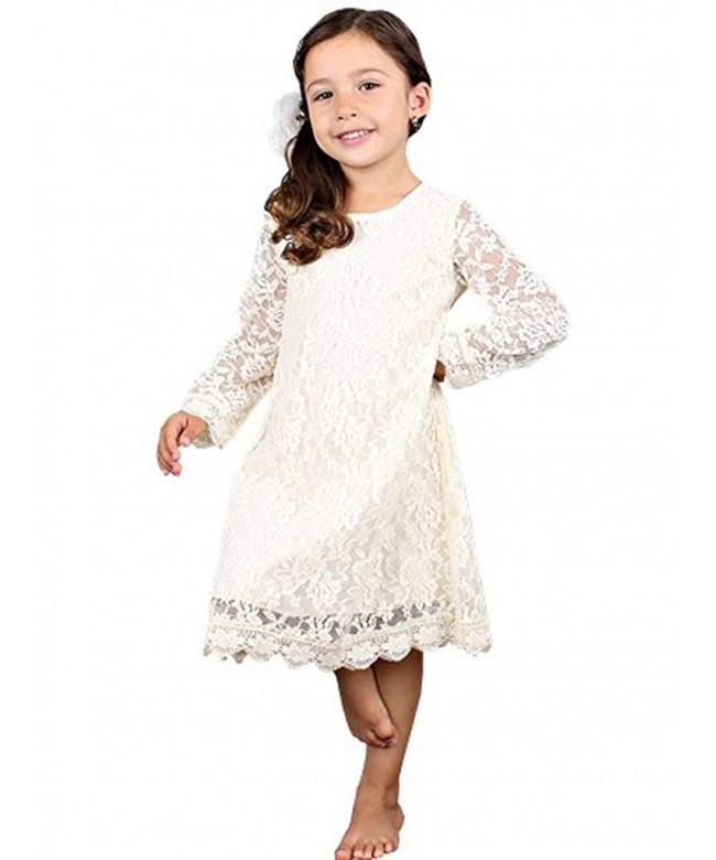 Bow Dream Flower Illusion Sleeves