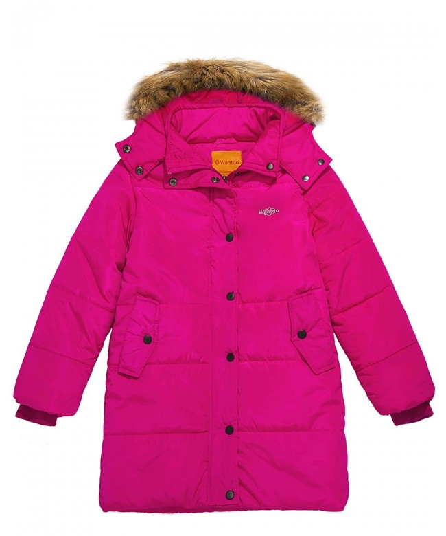 Wantdo Girls Winter Padded Jacket