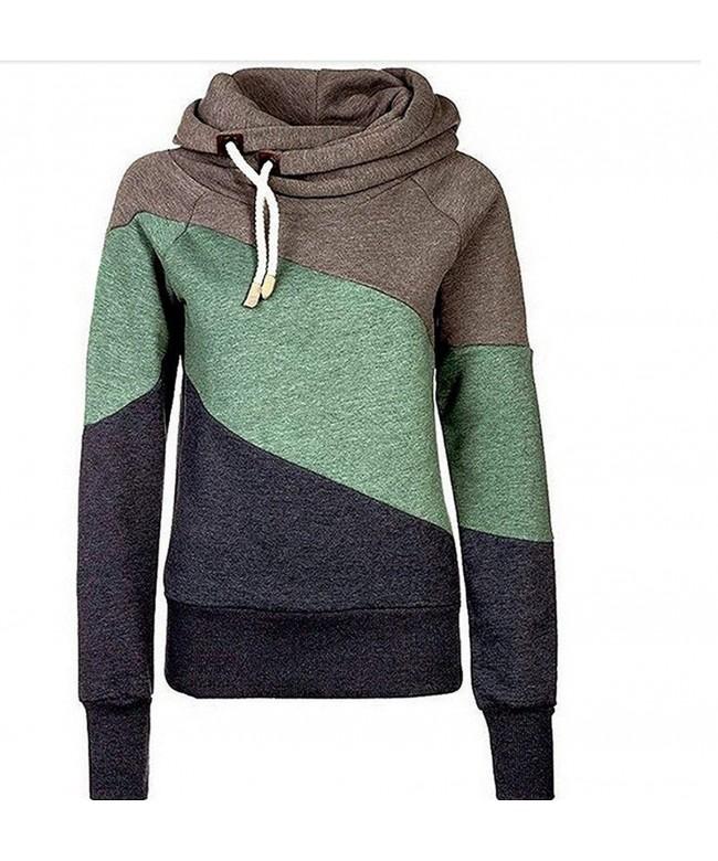 Speedle Contrast Pullover Sweatshirt Hoodies