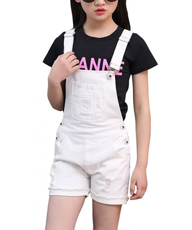 BINPAW Girls Cotton Overall Short