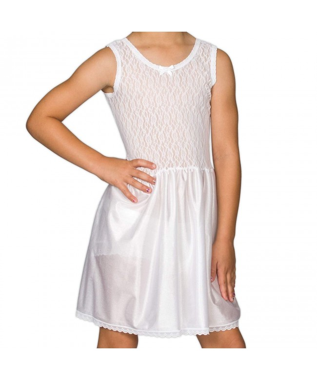 Collections Little Girls White Stretch