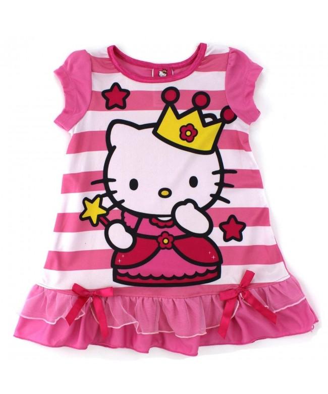 SANRIO Princess Nightgown Pajamas Toddler