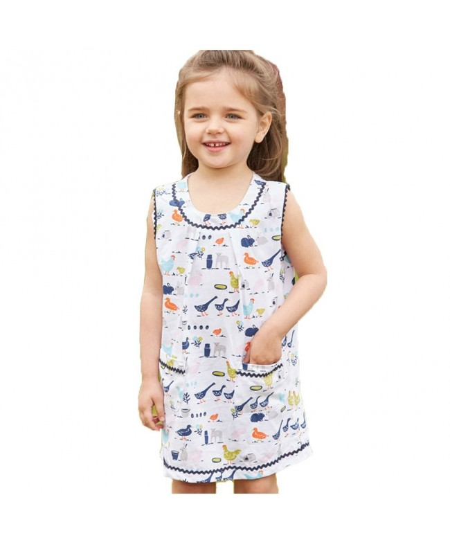 Bleubell Toddlor Girls Overall Vintage