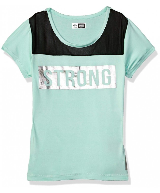 RBX Girls Performance Short Sleeve