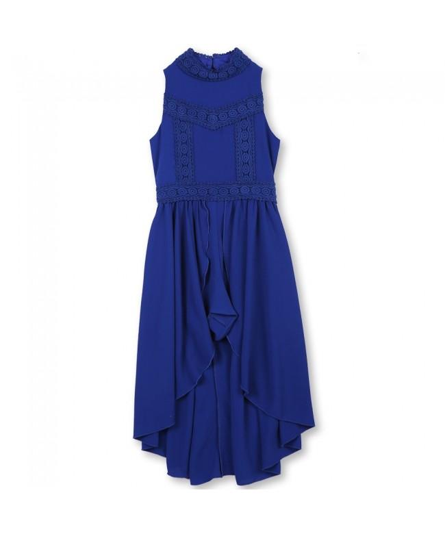 Speechless Girls Sleeveless Walk Through Dress