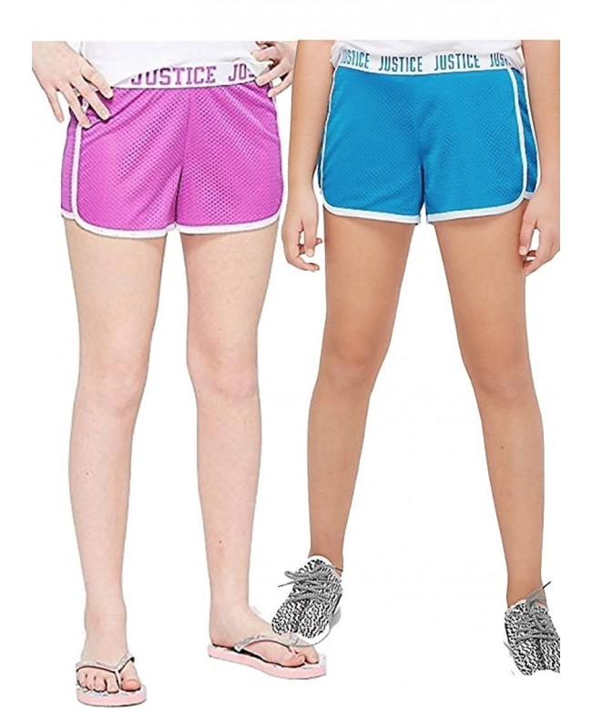 Justice Girls Shorts 2 Count Bundle