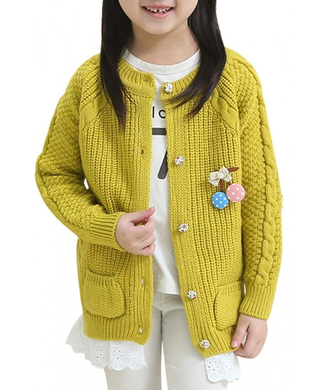 JiaYou Spring Cardigan Sweater Pockets