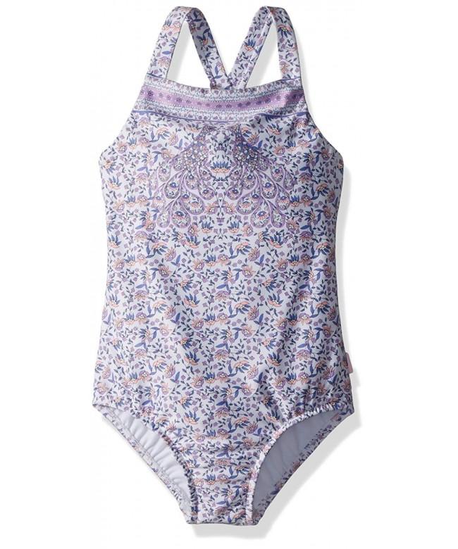 Seafolly Girls Ruffle Piece Swimsuit