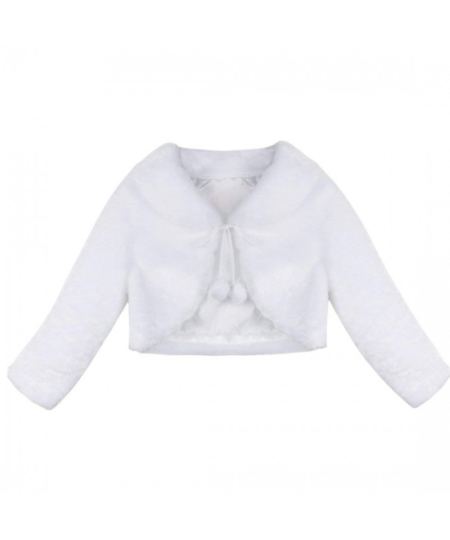 YiZYiF Sleeve Bolero Wedding Princess