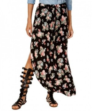 Ultra Flirt Juniors Printed Skirt