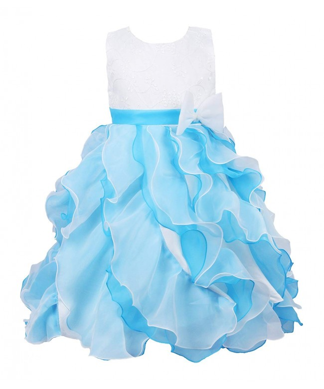 JerrisApparel Formal Organza Pageant Princess