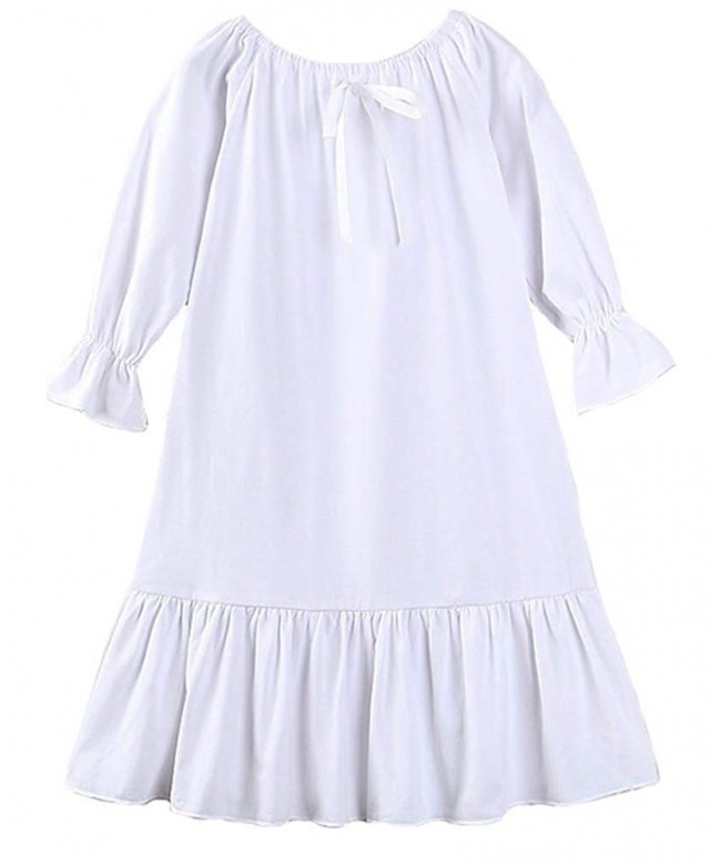 Coralup Toddler Sleeve Sleepwear Nightgowns
