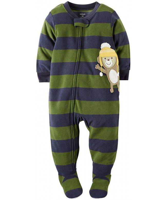 Carters Little Striped Footie Toddler