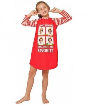 Intimo Smiling Striped Raglan Nightgown