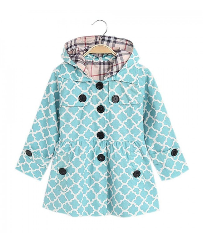 Hooded Windbreaker Lightweight Dress coat Outwear