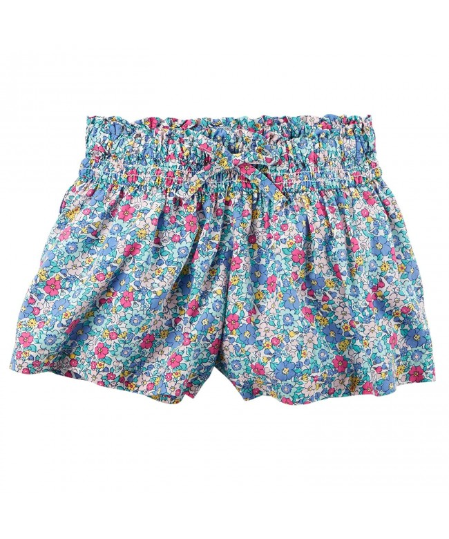 Carters Floral Printed Silky Shorts