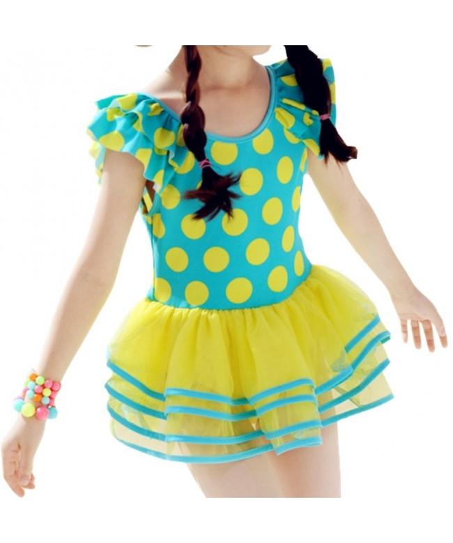 DQdq Little Girls Swimsuits Dresses