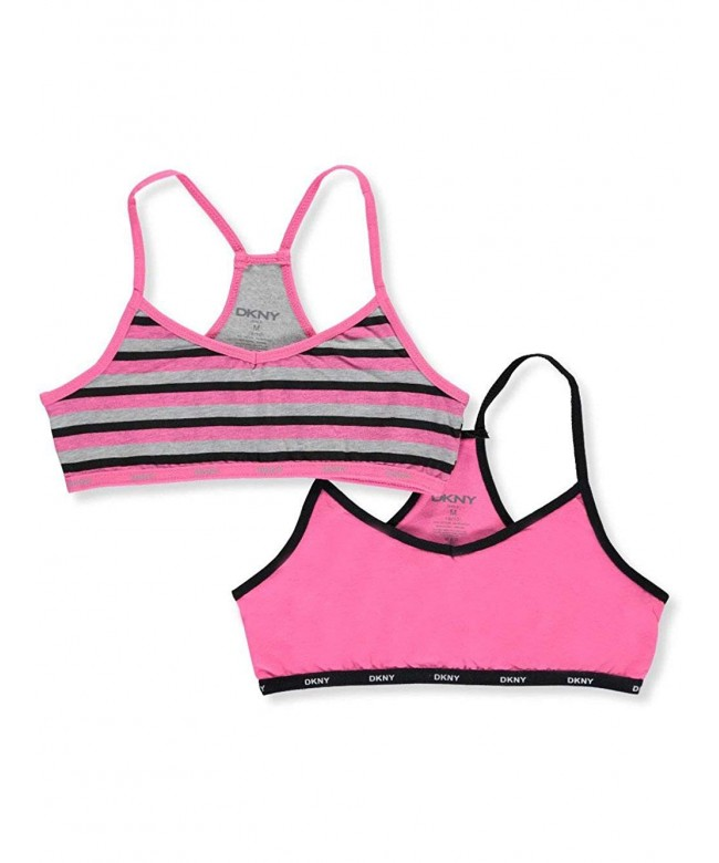 DKNY Girls 2 Pack Racer Bralettes