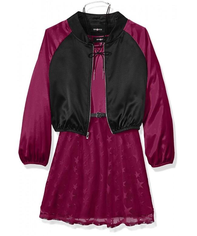 Amy Byer Girls Bomber Jacket