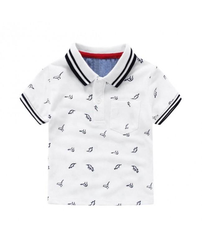 Motteecity Clothes Cartoon Dinosaurs Birthday