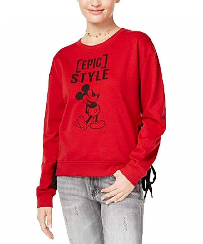 Freeze Juniors Graphic Lace up Sweatshirt