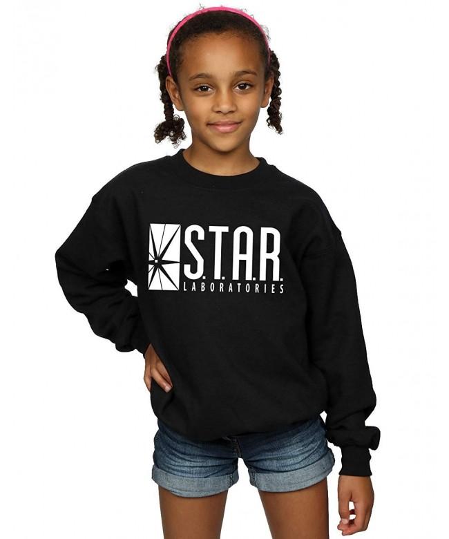 DC Comics Girls Flash Sweatshirt