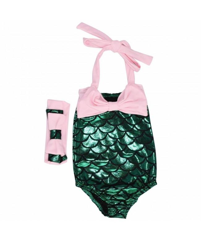 Unique Baby Mermaid Bathing Headband