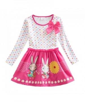 JUXINSU Toddler Cotton Flower Cartoon