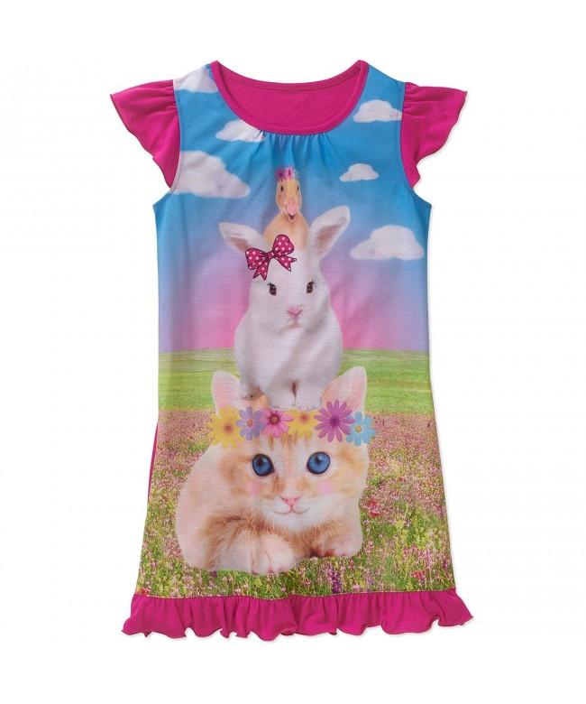 Komar Kids Summer Animal Nightgown