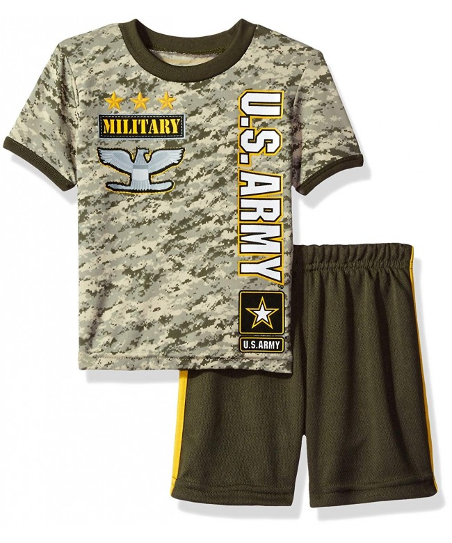 US Army Boys Toddler Short