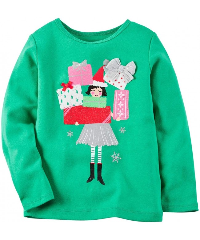 Carters Girls Graphic Top