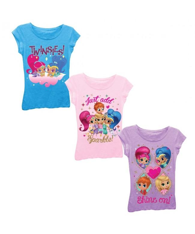 Nickelodeon Little Shimmer T Shirt Turquoise