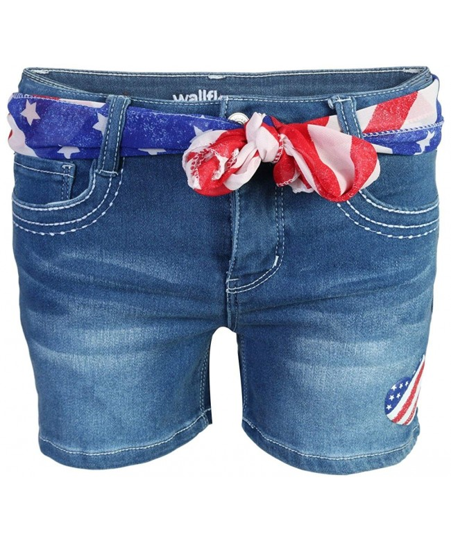 WallFlower Girls Strech Denim Shorts