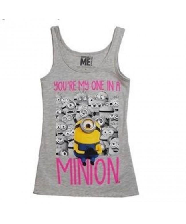 Youre Minion Girls Grey Tank