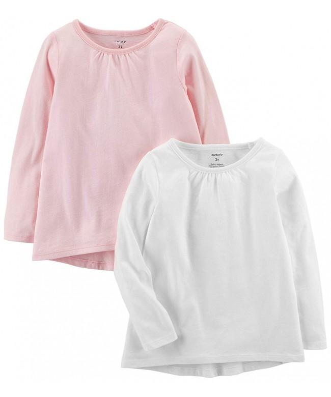 Carters Girls Toddler 2 Pack Long Sleeve